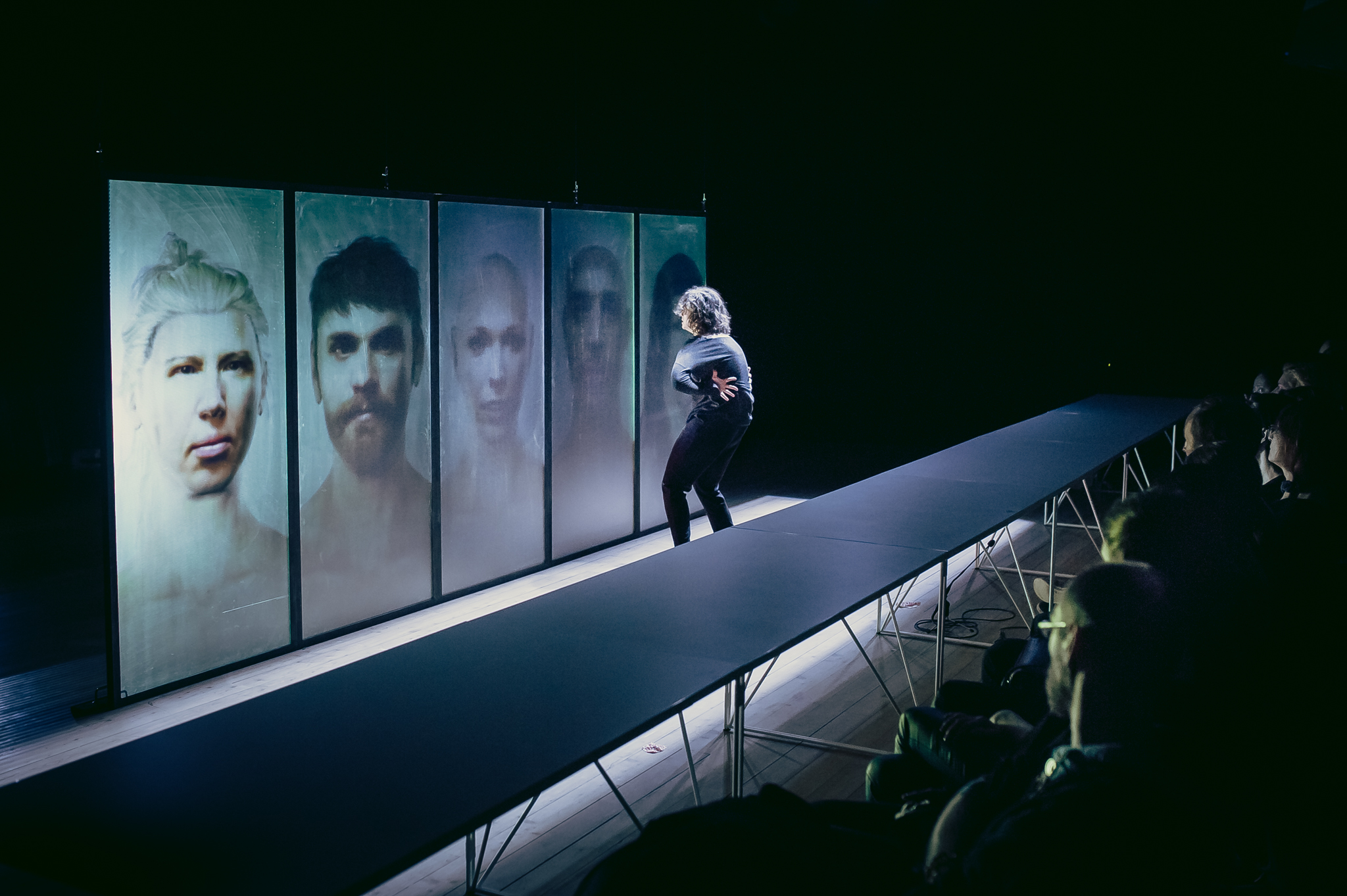 """Dance performance """"Dior in Moscow"""""""